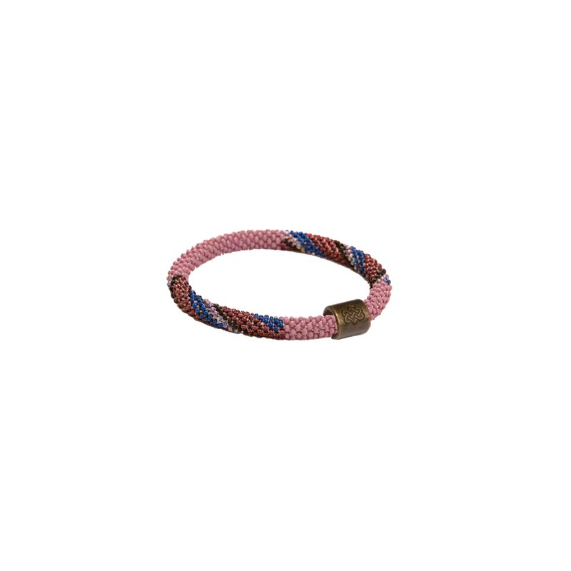 Mayalu Stripe Roll On Bracelet - Aaru Plum