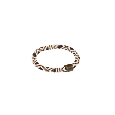 Mayalu Basket Roll On Bracelet Jeera Olive
