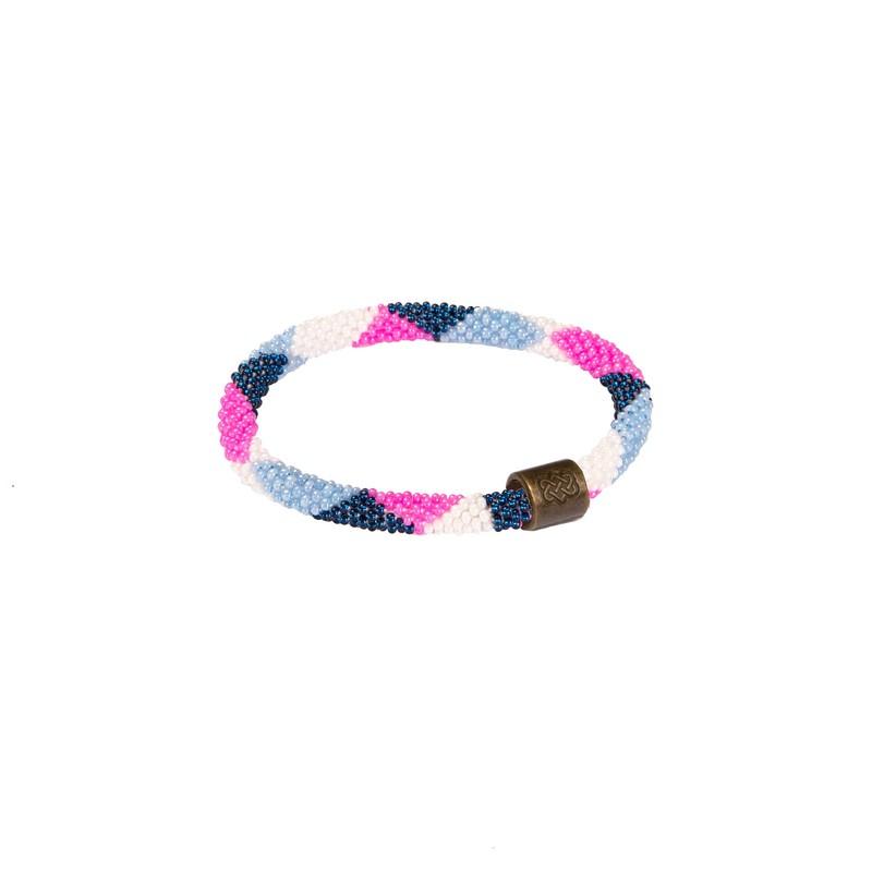 Mayalu Dhaka Bracelet - Neelo Blue