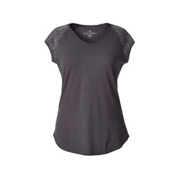 Royal Robbins Flynn S/S Top in Asphalt