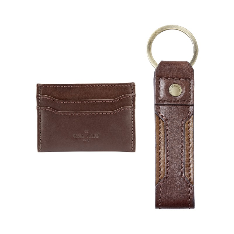 Key Ring & Card Wallet Gift Set