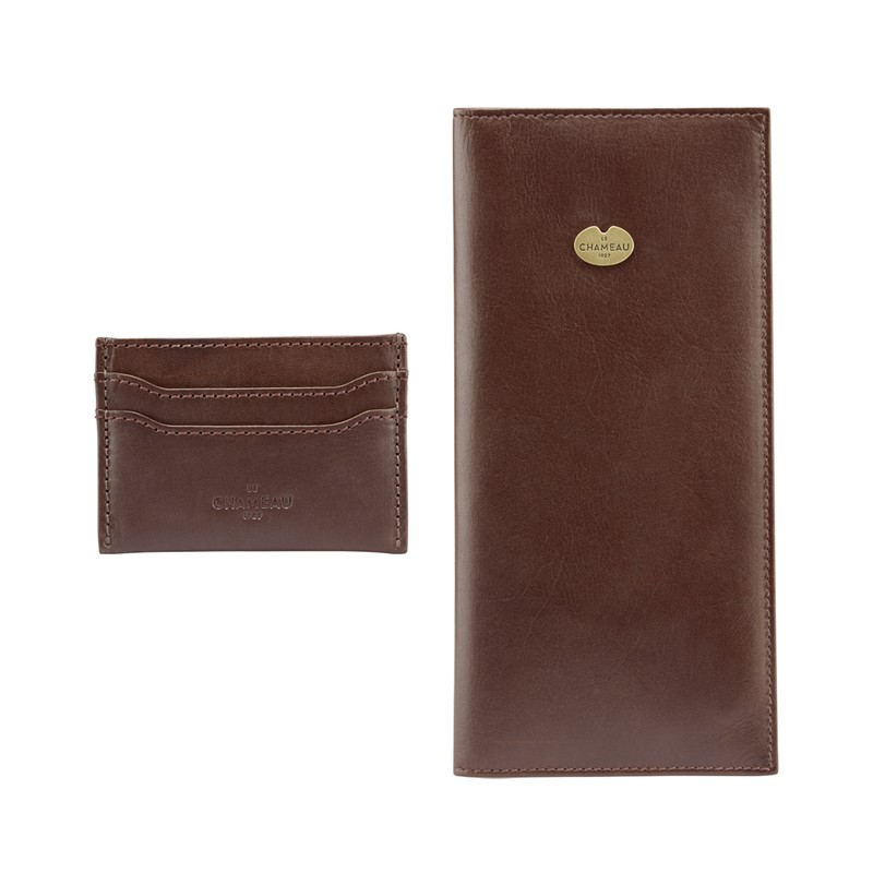 License Wallet & Card Wallet Gift Set