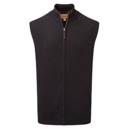 Schoffel Country Merino Gilet in Charcoal