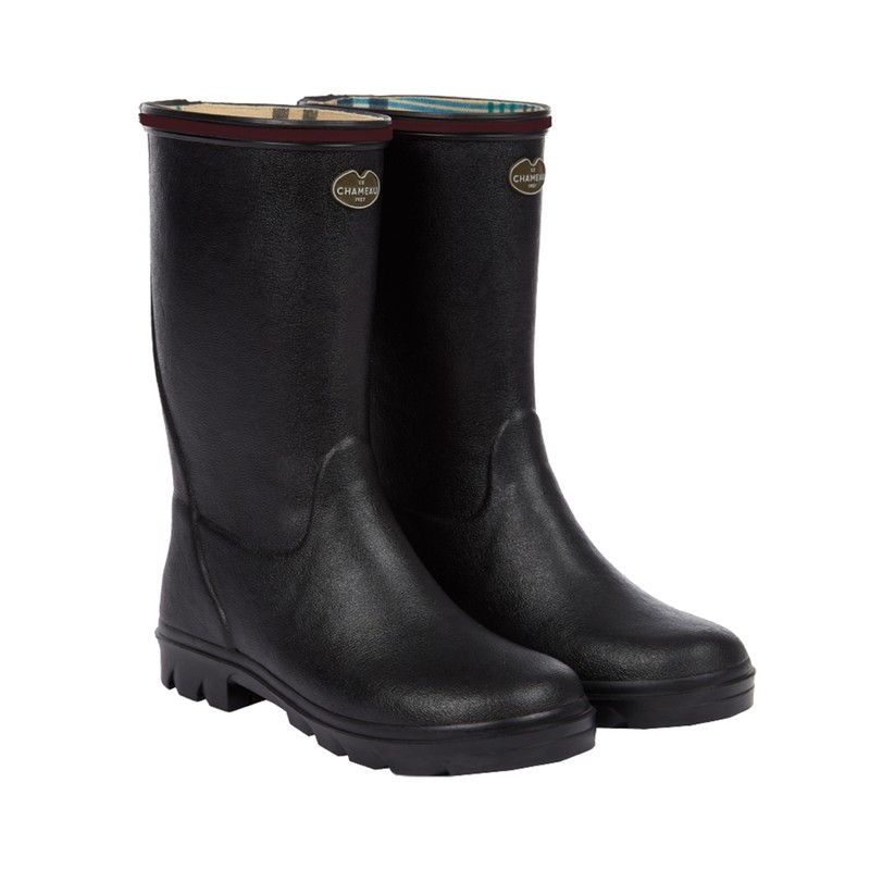 Children's Petite Aventure Jersey Lined Wellingtons