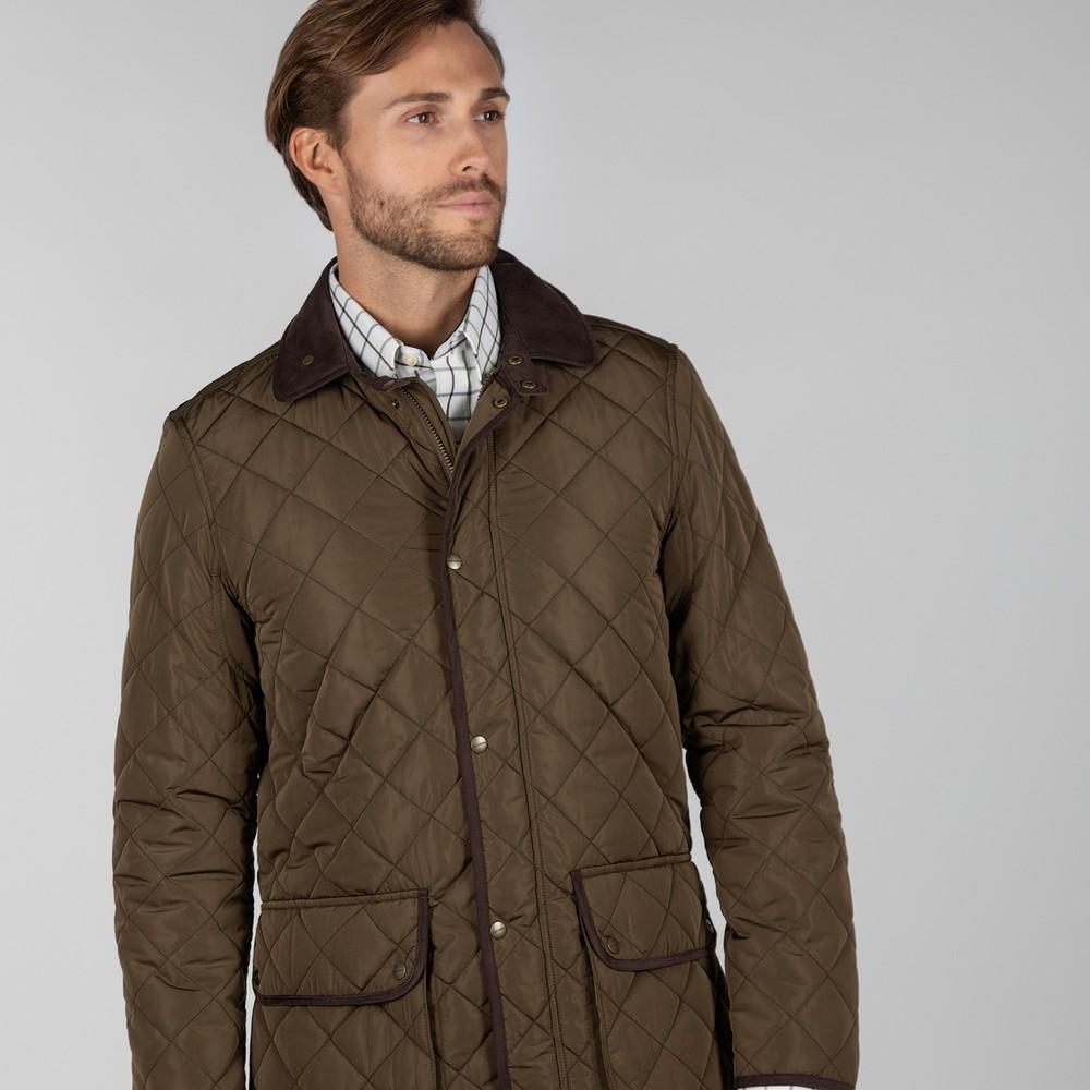 Barrowden Quilt Jacket Olive