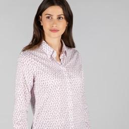 Schoffel Country Sunningdale Shirt in Barley Raspberry