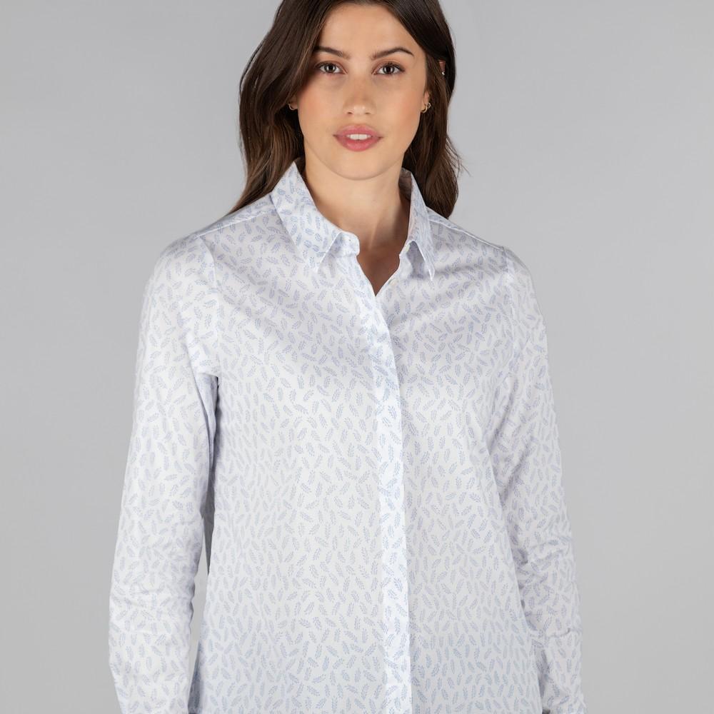 Sunningdale Shirt Barley Blue