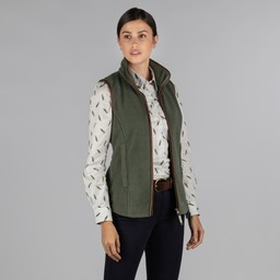 Schoffel Country Lyndon Fleece Gilet in Fern