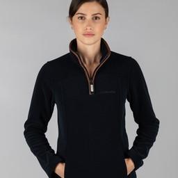 Schoffel Country Tilton 1/4 Zip Fleece in Navy