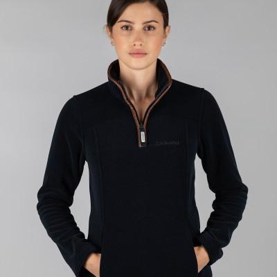 Tilton 1/4 Zip Fleece Navy
