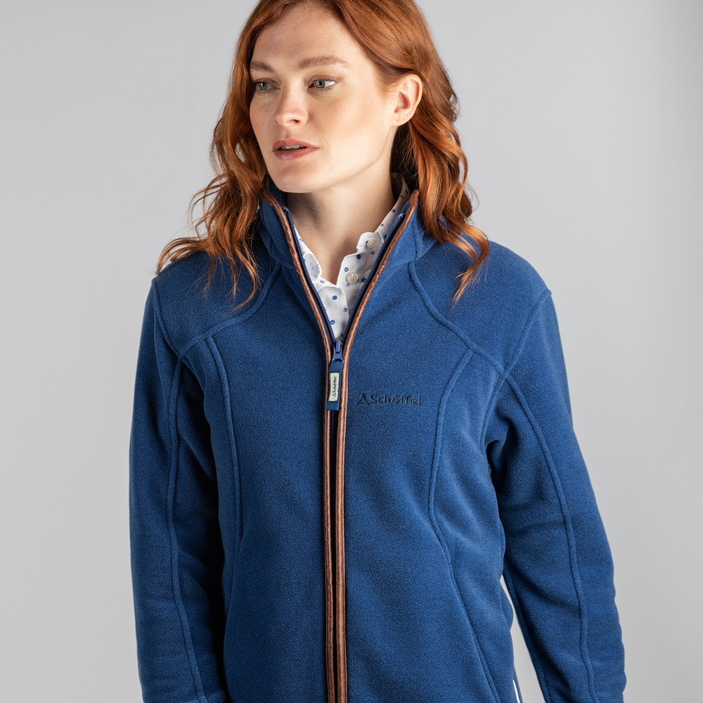 Burley Fleece Jacket Cobalt Blue