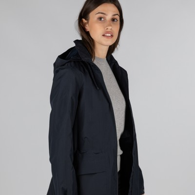 Hazelwood Coat Navy Blue