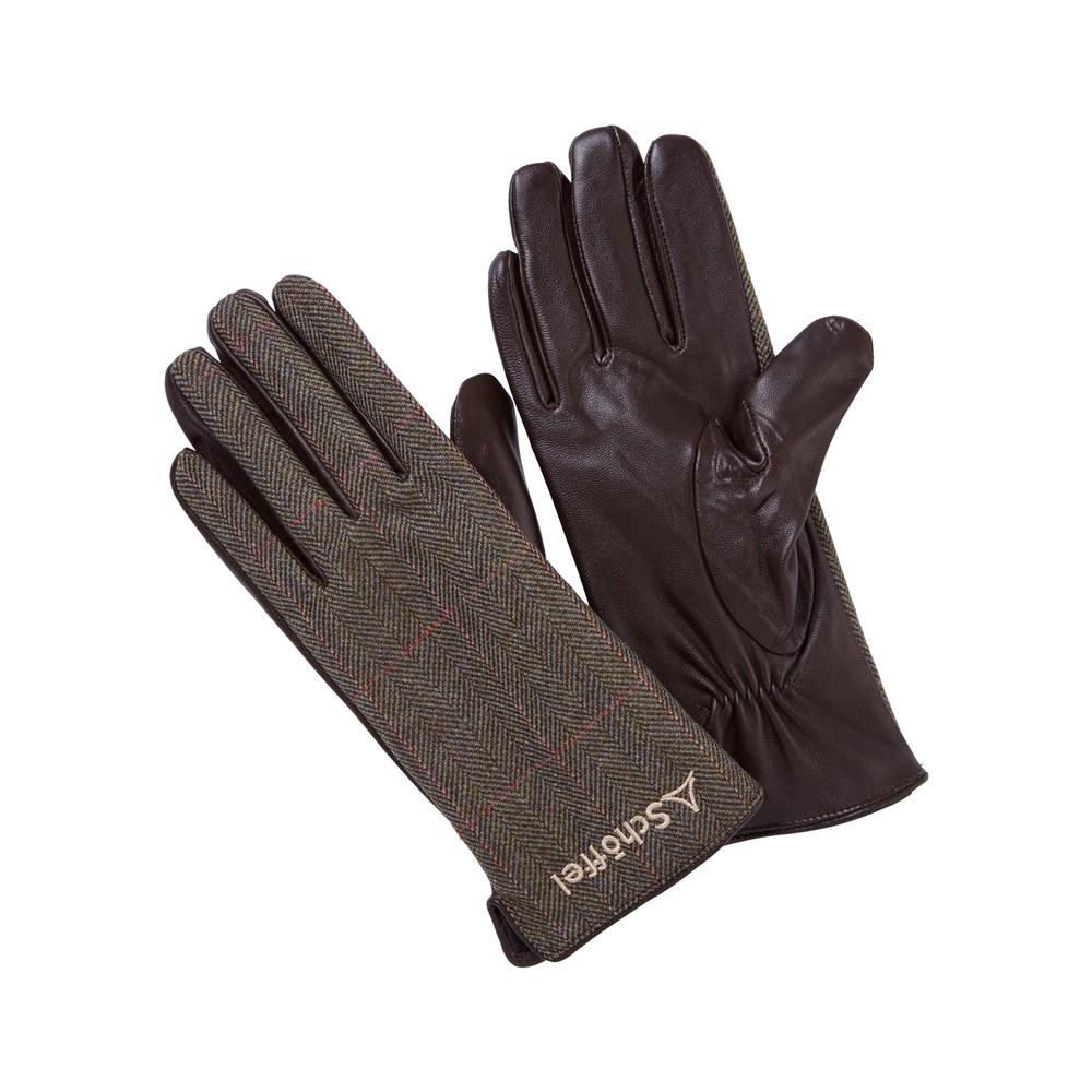 Ladies Tweed Glove Cavell Tweed