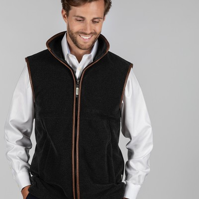 Oakham Fleece Gilet Gunmetal