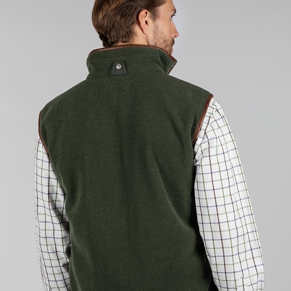 Oakham Fleece Gilet Cedar Green