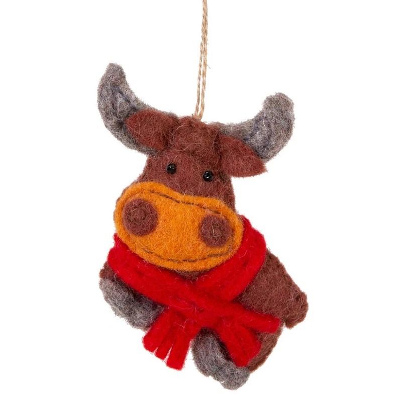 Yak Ornament - Multi