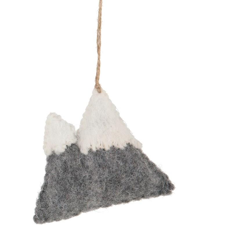 Handgefertigten Weihnachtsschmuck - Berg - Multi
