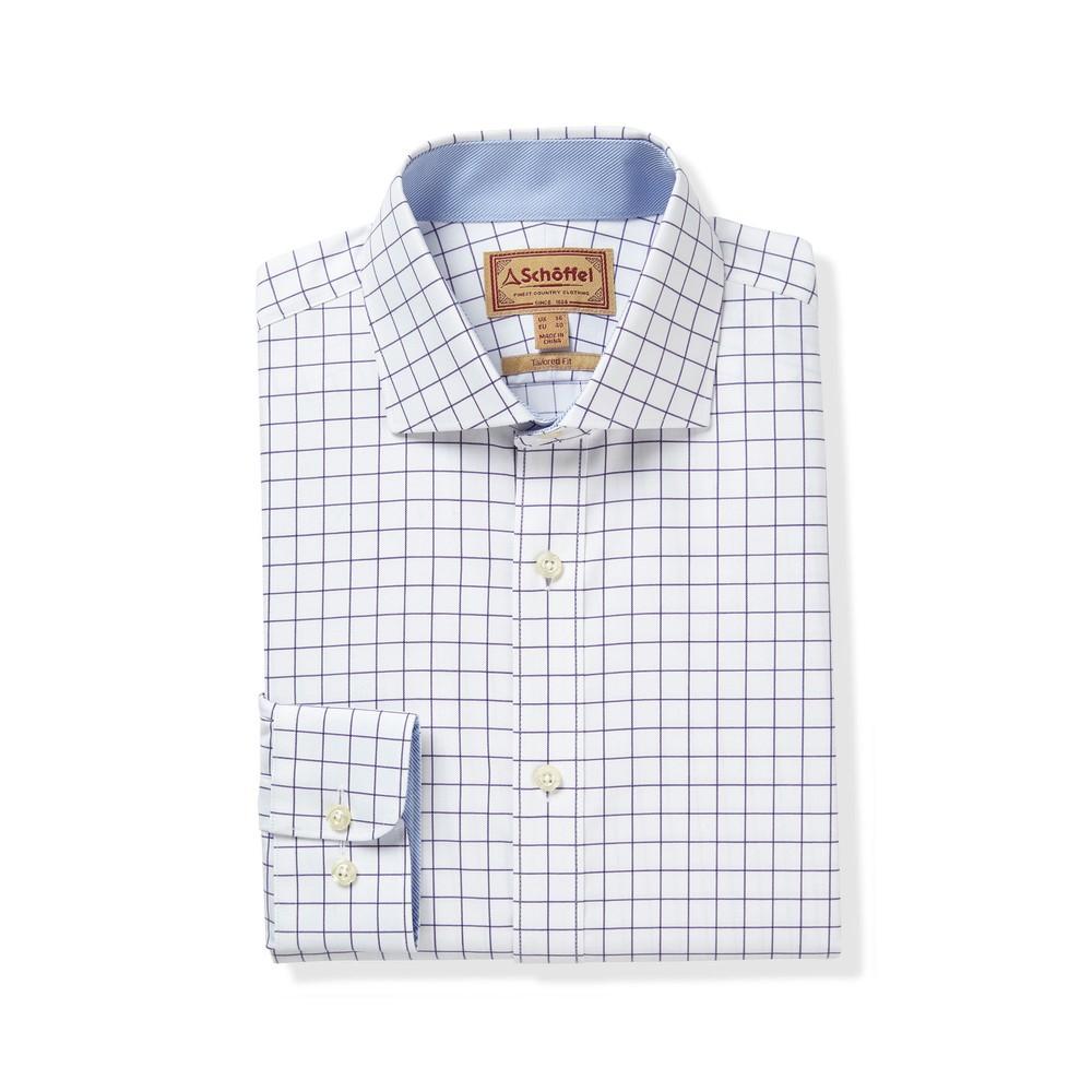 Greenwich Classic Shirt Purple Check