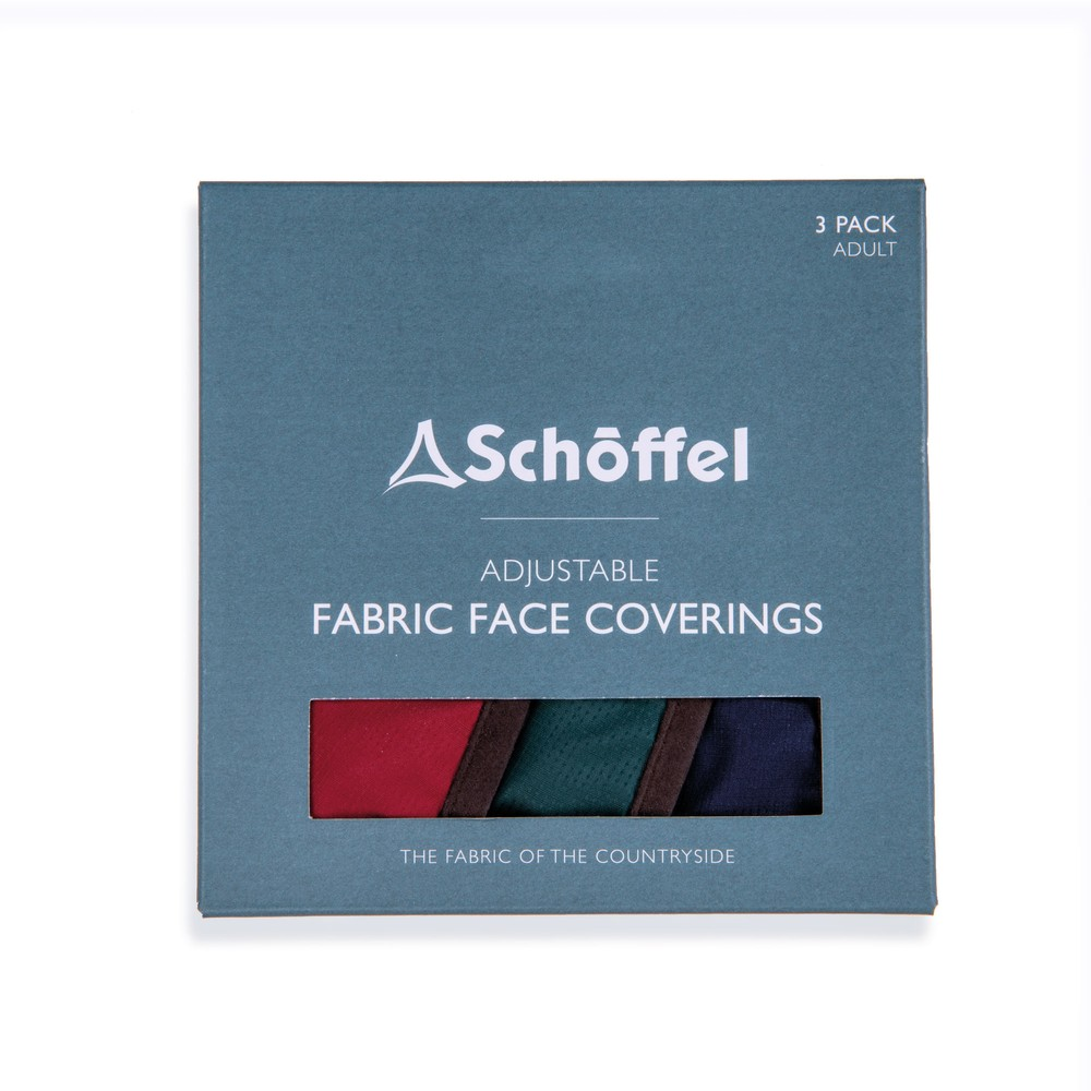 Schoffel Face Mask (Box of 3) Multi