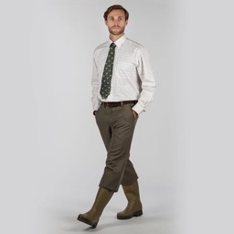 Tweed Plus Fours Loden Green Herringbone Tweed