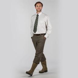 Schoffel Country Tweed Plus Fours in Loden Green Herringbone Tweed