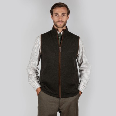 Schoffel Country Lambswool Aerobloc Gilet in Loden Green