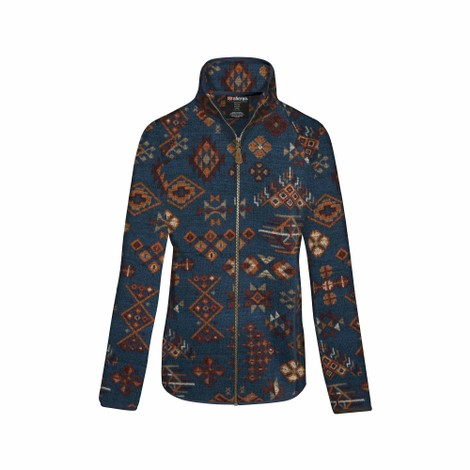 Sherpa Adventure Gear Lumbini Full Zip Jacket in Neelo Blue