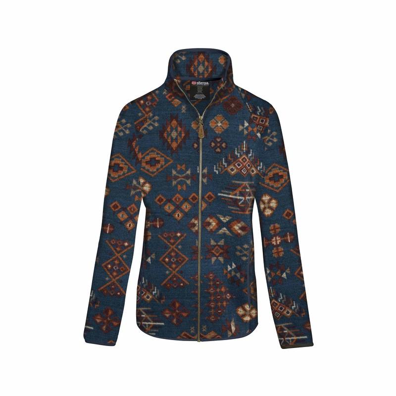 Lumbini Full Zip Jacket - Neelo Blue