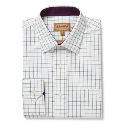 Burnham Tattersall Classic Shirt River Bed
