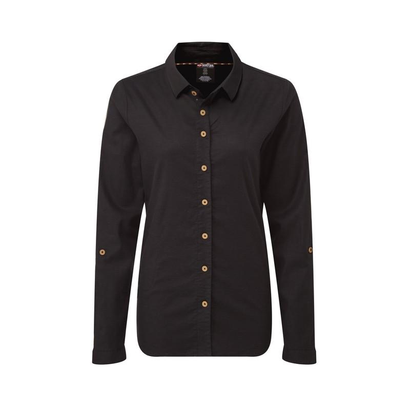 Langärmeliges Kiran-Hemd - Black