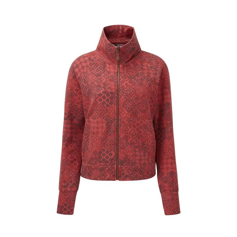 Santi Full Zip Jacket - Rosewood