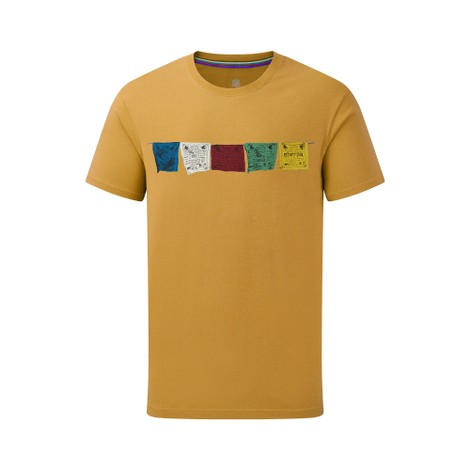 Sherpa Adventure Gear Tarcho Tee in Daal Yellow