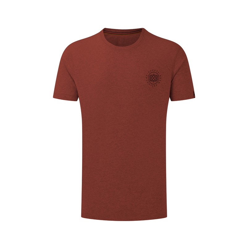 Summit Tee - Clay Red