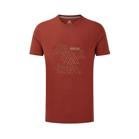 Sherpa Adventure Gear Kala Tee in Clay Red