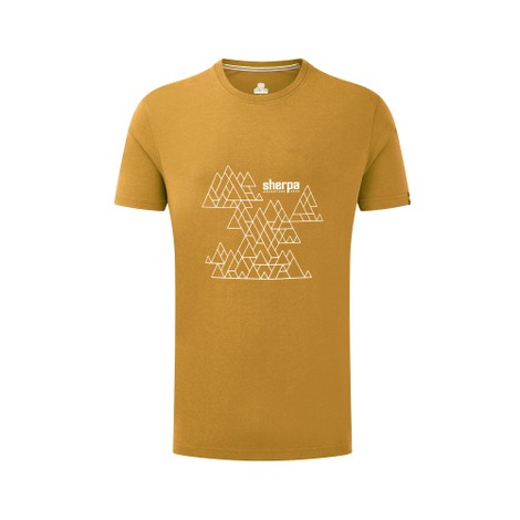Sherpa Adventure Gear Kala Tee in Daal Yellow
