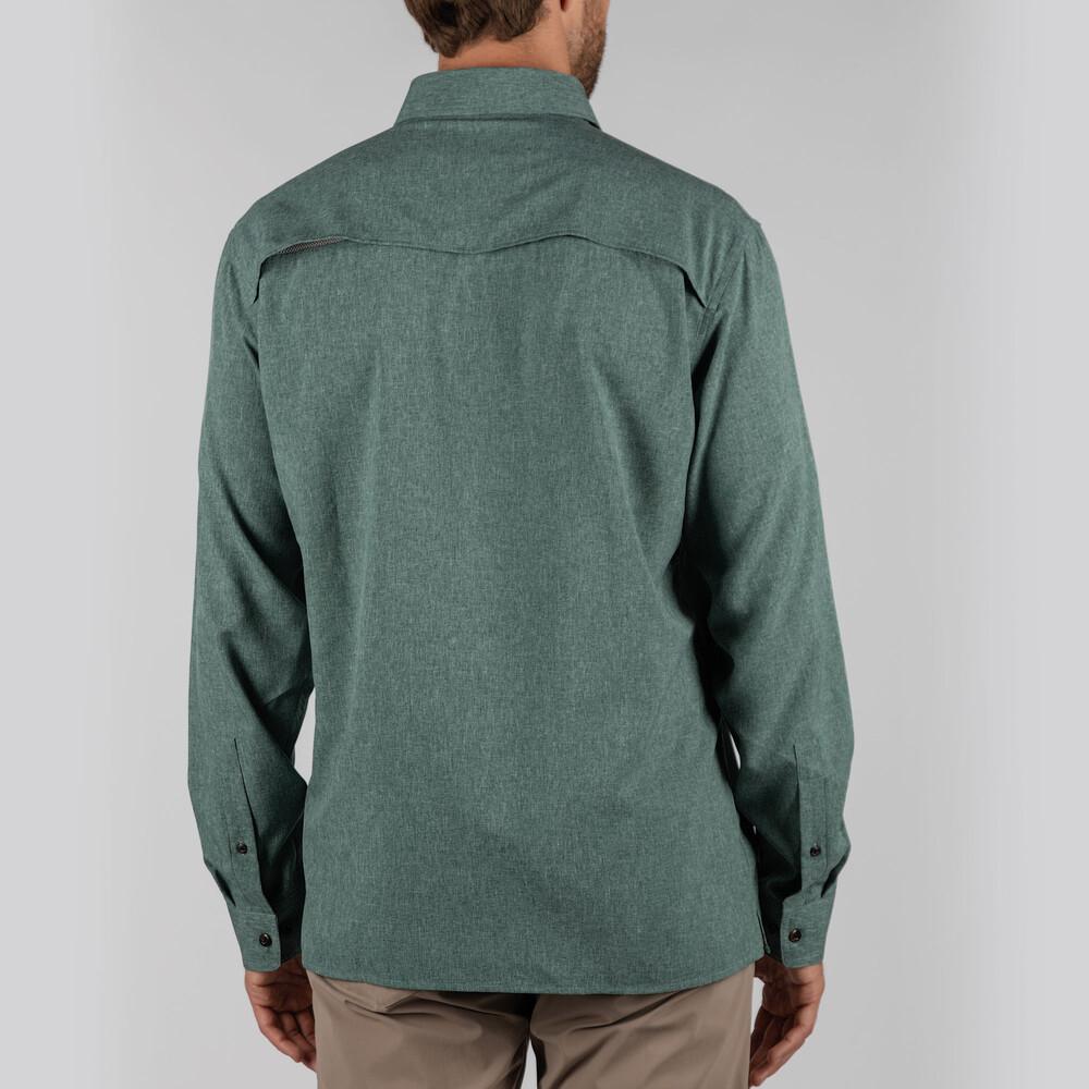 Findhorn Technical Fishing Shirt Dark Olive