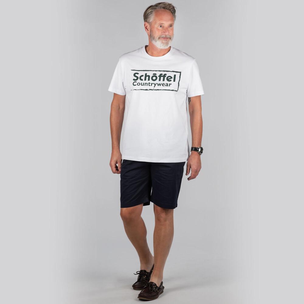 Schoffel Heritage T Shirt White