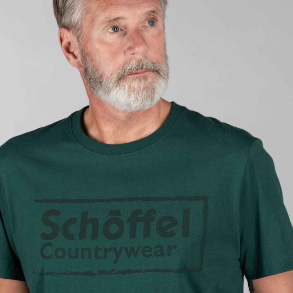 Schoffel Heritage T Shirt Forest