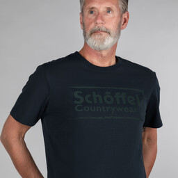 Schoffel Country Schoffel Heritage T Shirt in Navy