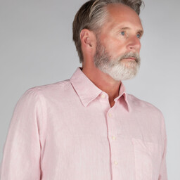 Schoffel Country Thornham Classic Shirt in Pale Pink