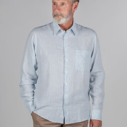 Schoffel Country Thornham Classic Shirt in Pale Blue
