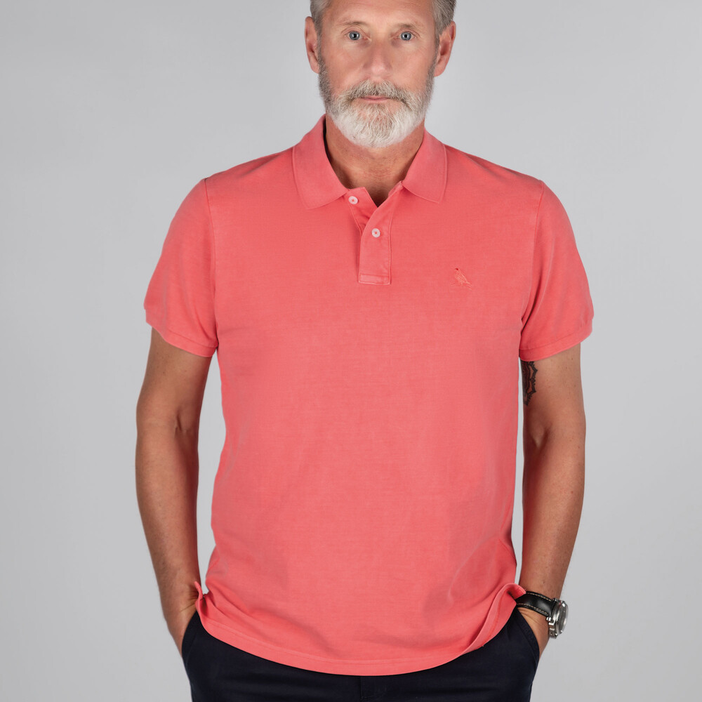 St Ives Classic Polo Shirt Coral