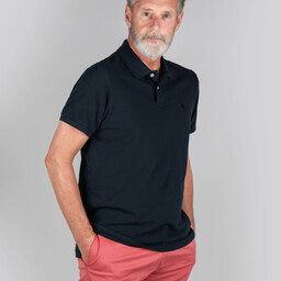 Schoffel Country St Ives Classic Polo Shirt in Navy