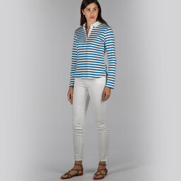 Schoffel Country Sunny Cove Shirt in Mykonos Stripe