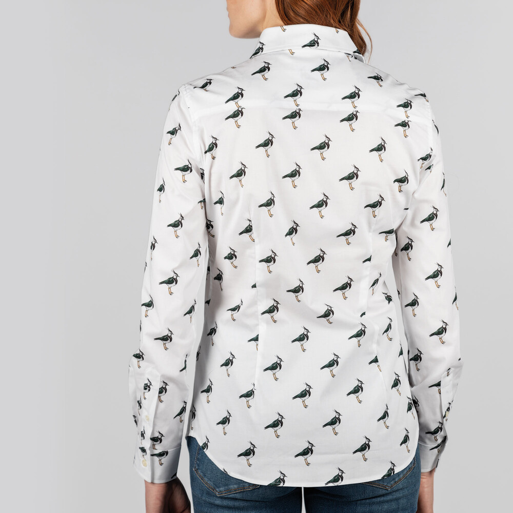 Norfolk Shirt Lapwing Print