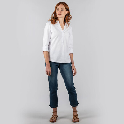 Mill Bay Shirt White