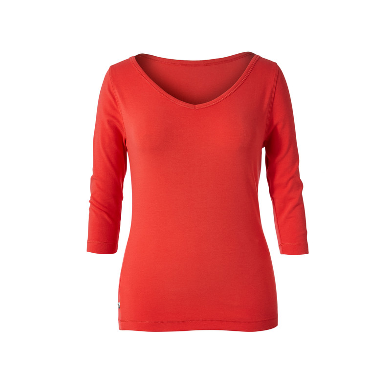 Kickback To Front 3/4 Sleeve Top