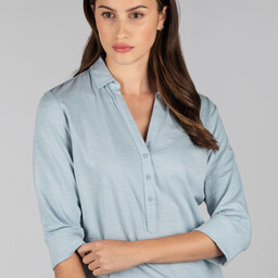 Schoffel Country Mill Bay Shirt in Ice Grey