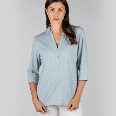 Mill Bay Shirt Ice Grey