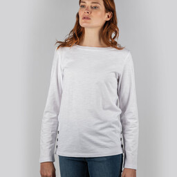 Schoffel Country Guernsey Scoop Top in White